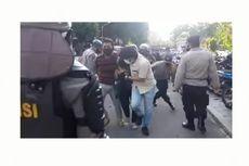 [KLARIFIKASI] Video Polisi Disebut Menyamar Jadi Mahasiswa Ditangkap Polisi Lainnya