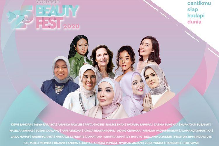 Wardah Beauty Fest untuk merayakan perjalanan 25 tahun Wardah.