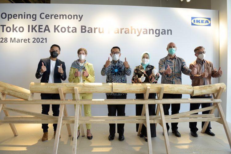 Opening ceremony IKEA Kota Baru Parahyangan, Bandung Barat
