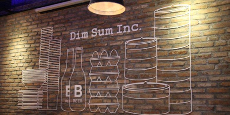 Dim Sum Inc di Plaza Festival Kuningan, Jakarta Selatan.