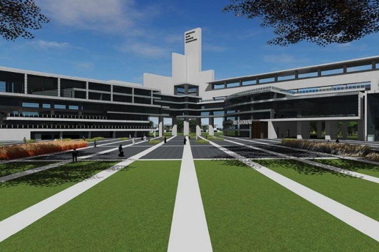 Desain futuristik kampus Universitas Islam Internasional Indonesia (UIII) dan tata ruang yang baik diharapkan menjadi kampus masa depan bagi kajian dan penelitian peradaban Islam.