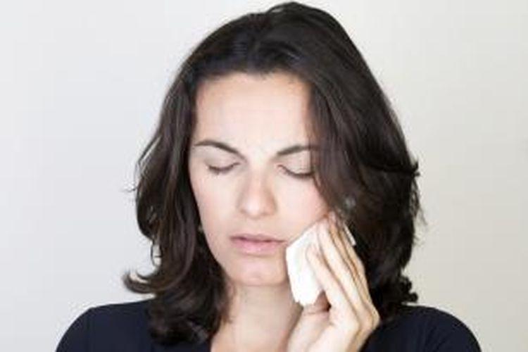 Ilustrasi penyakit gigi dan mulut.