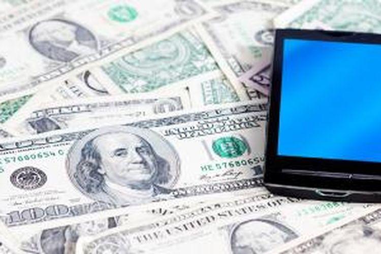 Ilustrasi uang digital