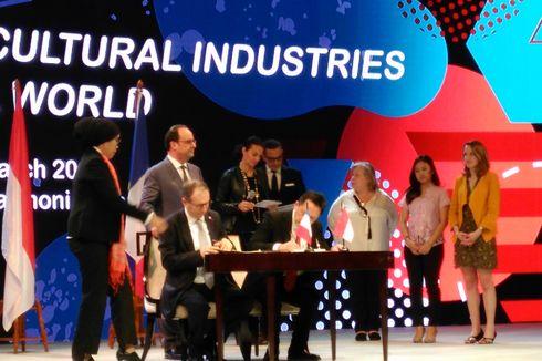 Bekraf Jalin Kemitraan Pengembangan Ekonomi Kreatif dengan Perancis