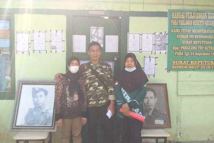 Keluarga mantan prajurit TNI yang tinggal di rumah dinas Pomdam II Sriwijaya menolak untuk keluar karena mengkalim lokasi itu telah keluar register dari kepemilikan TNI AD, Selasa (8/6/2021).