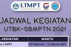 Jangan Lupa, Ini Jadwal UTBK SBMPTN 2021