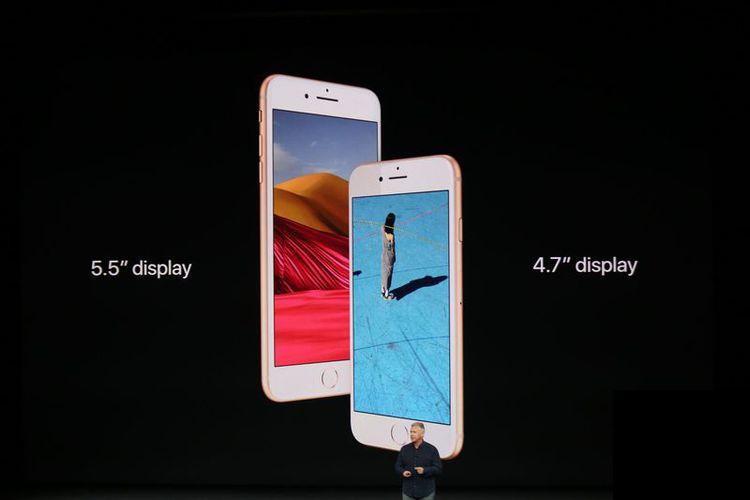 iPhone 8 dan iPhone 8 Plus dirilis Selasa (12/9/2017).