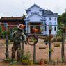 Petani Kamboja Halau Covid-19 dengan Orang-orangan Sawah