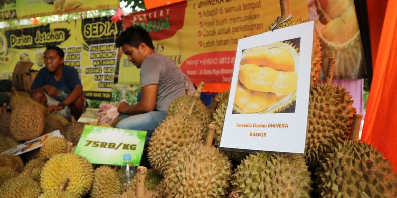 Durian bawor, Featival Bazar Durian Bogor.
