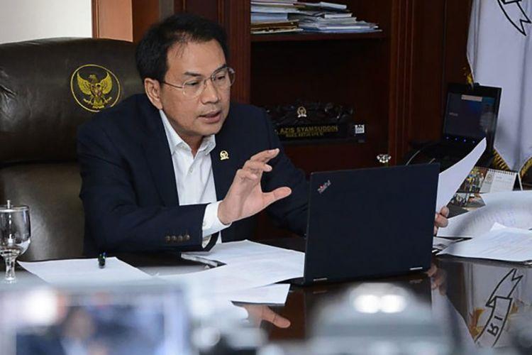Wakil Ketua DPR RI M Azis Syamsuddin