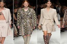 Koleksi Motif Ular Salvatore Feragamo Mendesis di Milan Fashion Week 2014