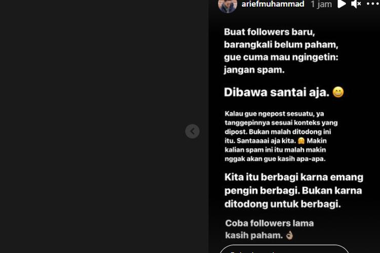 Unggahan Arief Muhammad