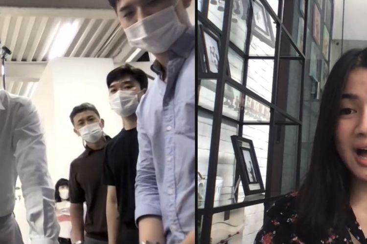 Video Call dengan Song Joong Ki, Felicya Angelista Teriak Histeris