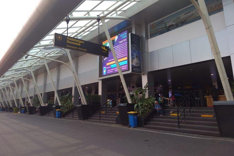 Kondisi Bandara Husein Sastranegara pasca-pemindahan 56 penerbangan dari Husein ke Kertajati, Rabu (3/7/2019).