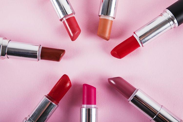 Ilustrasi varian warna lipstik untuk kulit wanita Indonesia (Dok. Freepik)