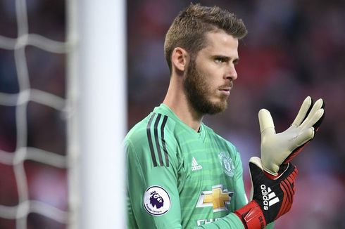 Man City Vs Man United, De Gea Optimistis Tatap Derbi Manchester