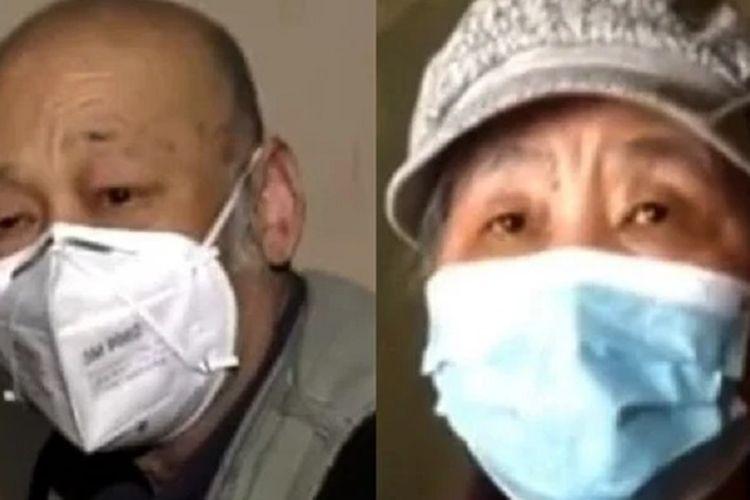 Tuan dan Nyonya Chen. Pasangan asal Tianjin, China, yang viral karena meski 30 tahun menikah, mereka memisahkan uang hingga makanan.
