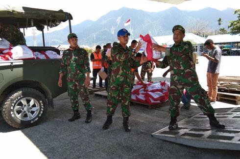 11 Ton Bantuan dari Presiden untuk Pengungsi Wamena Tiba di Jayapura