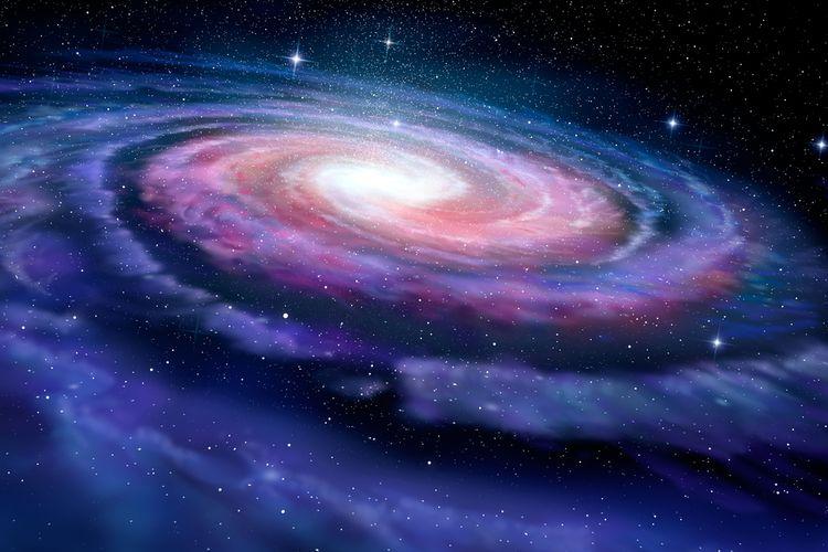 Ilustrasi galaksi Bima Sakti. Galaksi kita adalah salah satu galaksi spiral di alam semesta. Baru-baru ini, struktur baru ditemukan di Galaksi Bima Sakti, dan membuat astronom bingung.