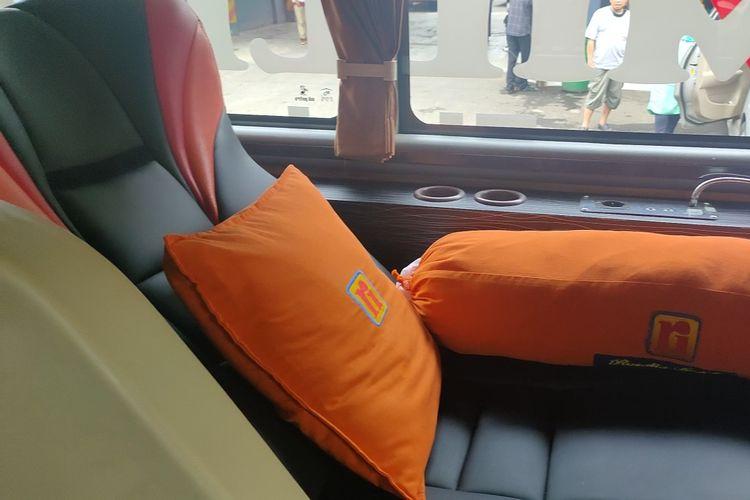Kabin bus PO Rosalia Indah