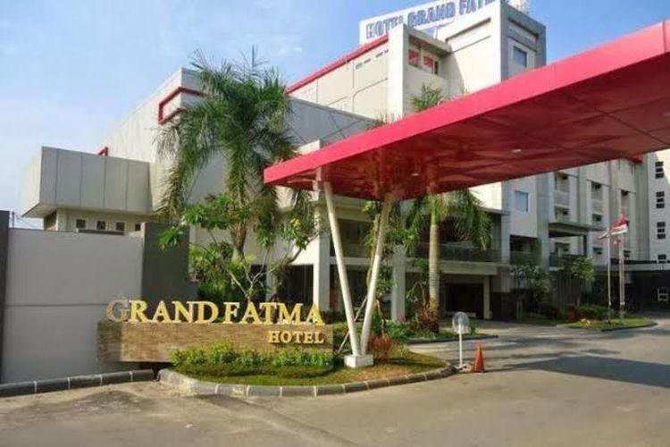 Grand Fatma Hotel yang berada di Kabupaten Kutai Kartanegara.