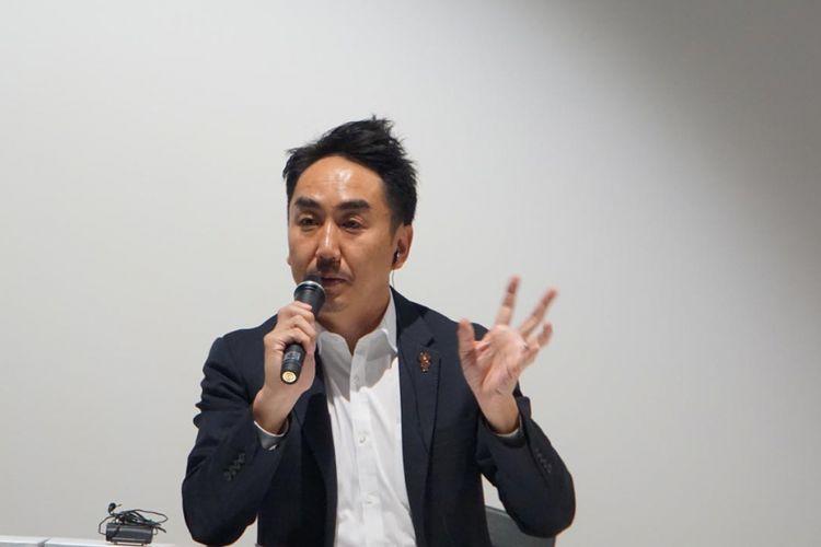 CEO Line Takeshi Idezawa