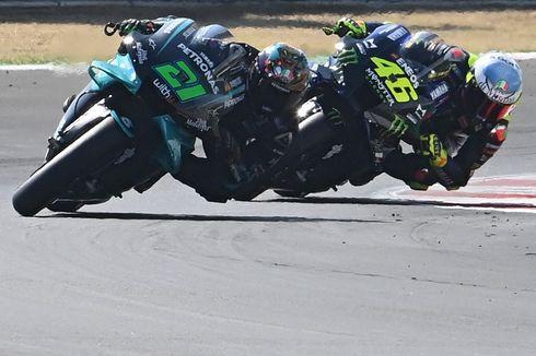 Jadi Rekan Setim Morbidelli, Rossi Bilang Musim Depan akan Sulit
