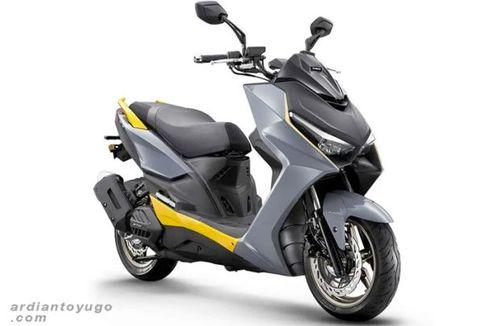 Kymco Rilis KRV 180 Model 2022, Lawan Aerox yang Makin Sporty
