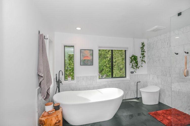 Ilustrasi kamar mandi