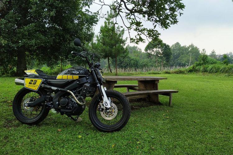 Yamaha Yard Built, XSR 155 Motoride Bandung
