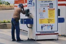 Viral Pria Keramas di Tempat Cuci Tangan, Lurah Setiabudi: Dia Buru-buru Mau Shalat Jumat