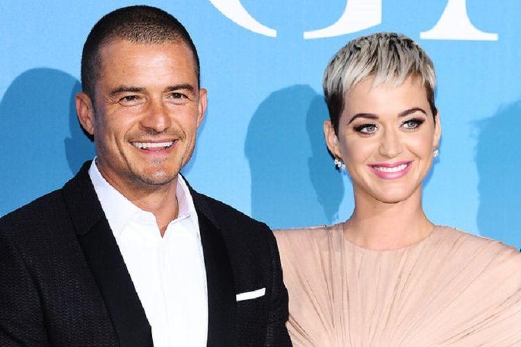 Katy Perry dan Orlando Bloom.