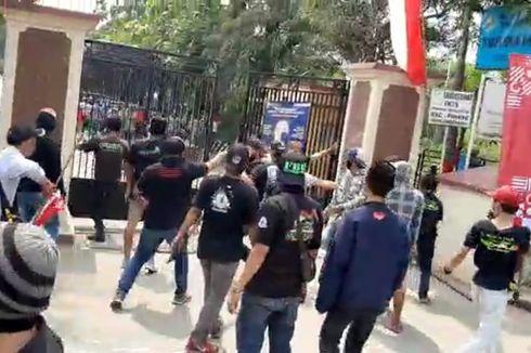 Polisi Tangkap Penyerang Kantor Kecamatan Pinang yang Bawa Senjata Tajam