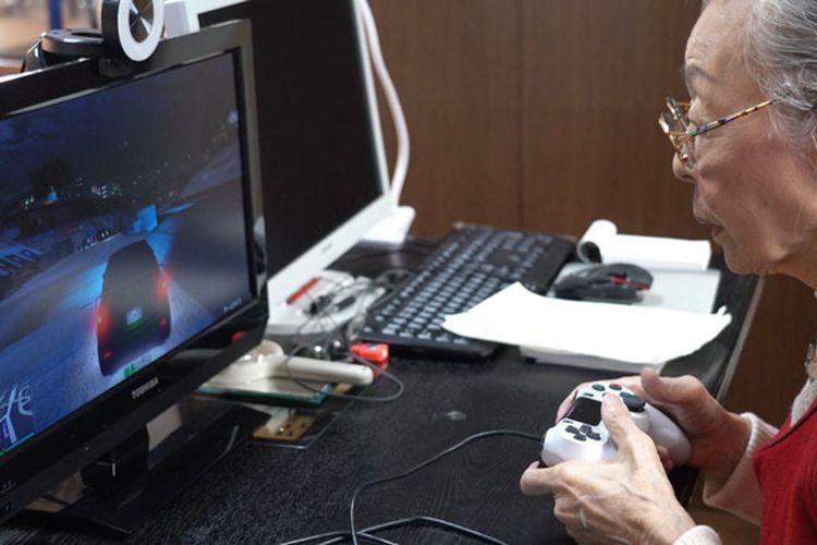 Hamako Mori (90) gamer tertua di dunia versi Guinnes World Records