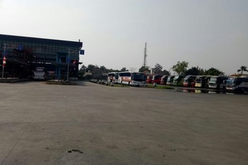 Cegah Covid-19, Terminal Pondok Cabe Periksa Suhu Tubuh Penumpang Bus