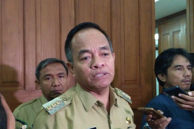 Wali Kota Jakarta Timur Bambang Musyawardana di Balai Kota DKI Jakarta, Selasa (26/9/2017).