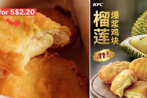 Nugget Ayam dengan Isian Durian, Berani Coba?