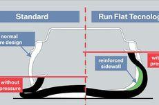 Run Flat Tire Model Terbaru Sudah Bisa Ditambal