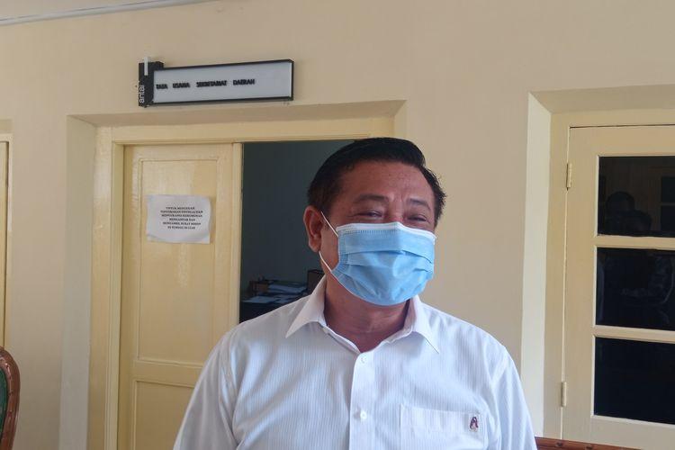 Sekda DIY Kadarmanta Baskara Aji, ditemui di kantornya Rabu (7/4/2021)