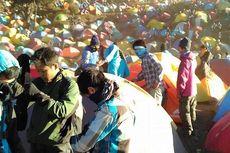 Wow, 6.000 Pendaki Padati Gunung Prau Saat Libur 17 Agustus