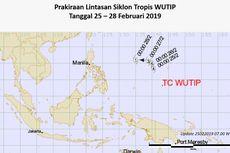 Kelahiran Siklon Tropis Wutip Picu Gelombang Tinggi di Perairan Papua