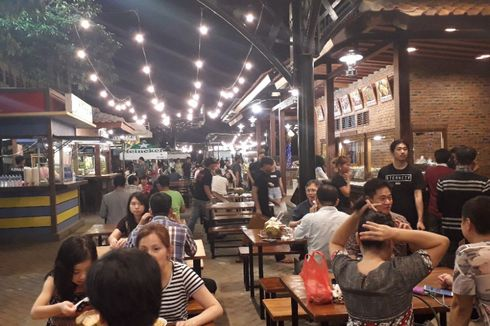 Geliat Kehidupan di Pulau Reklamasi dan Teka-teki Perizinan Food Street