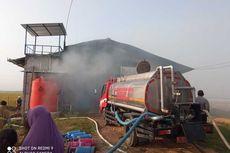 Kandang Ayam Terbakar di Grobogan, 40.000 Ekor Mati dan Kerugian Capai Rp 2,5 Miliar