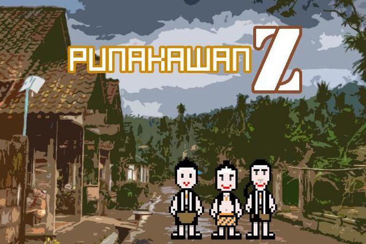 Game Punakawan Z, sebuah game edukatif dan kreatif yang diperuntukkan bagi anak-anak generasi Z.