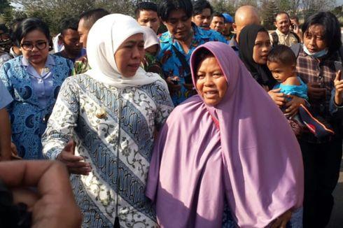 Khofifah Minta Warga Jatim yang Ada di Jayapura Tidak Ikut Pulang