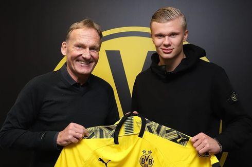 Haaland Pilih Dortmund karena Lebih Serius daripada Man United