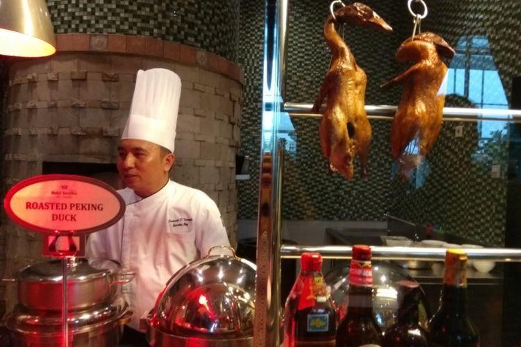 Yan Palace di Hotel Santika Premiere Slipi, Jakarta menyajikan hidangam China halal.