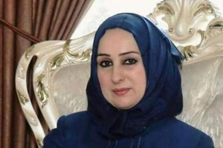 Shaima al-Hayali, Menteri Pendidikan yang baru ditunjuk oleh pemerintah Iran ini memilih untuk mengundurkan diri. (The Baghdad Post).