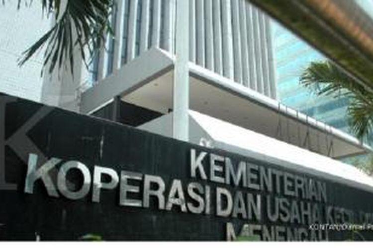 Kantor Kementrian Koperasi dan UKM