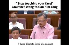Ramai Cuplikan Pidato Menteri Kesehatan Singapura soal Virus Corona, Ini Selengkapnya..